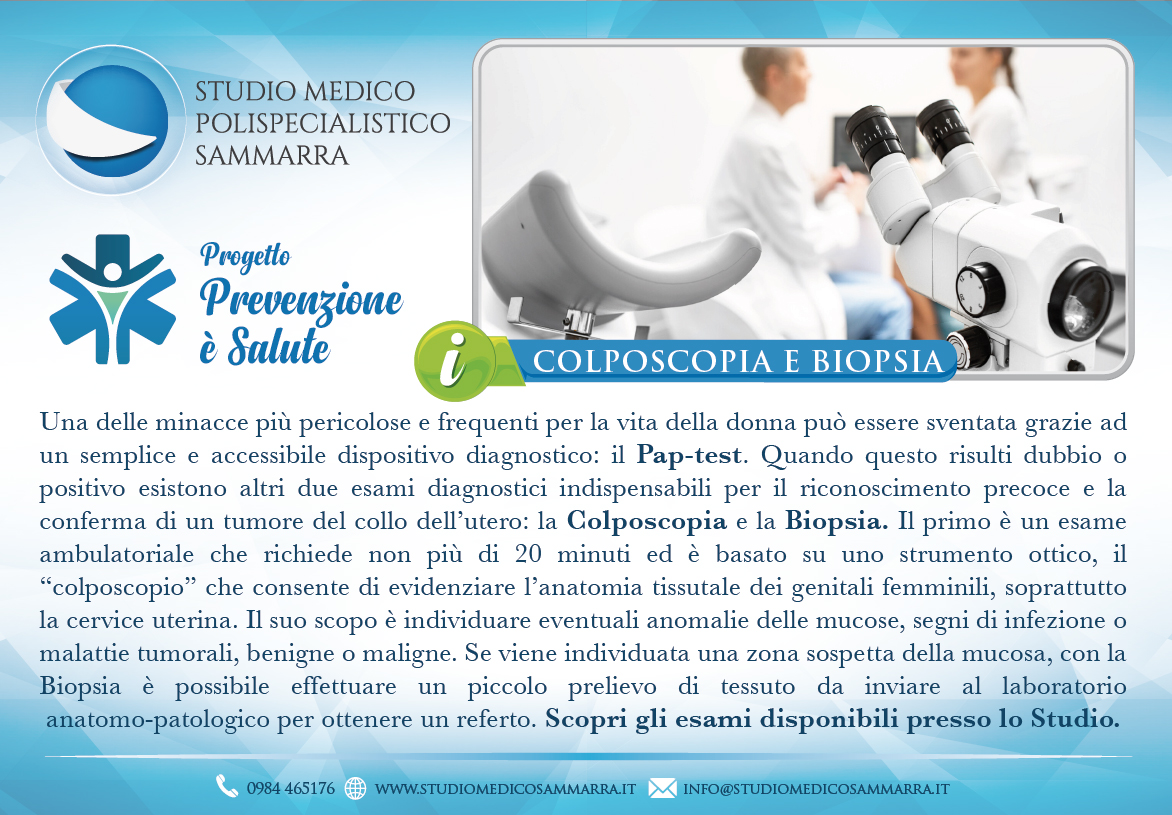 Colposcopia e Biopsia