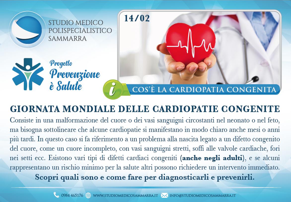 14 febbraio: Giornata mondiale delle cardiopatie congenite
