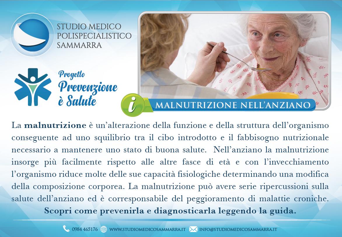 Malnutrizione nell'anziano