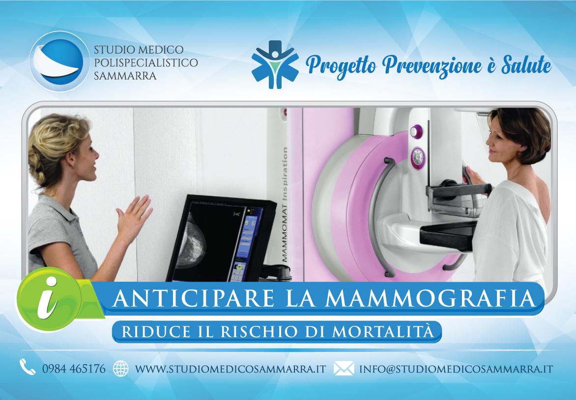 Anticipare la mammografia: riduce il rischio di mortalità